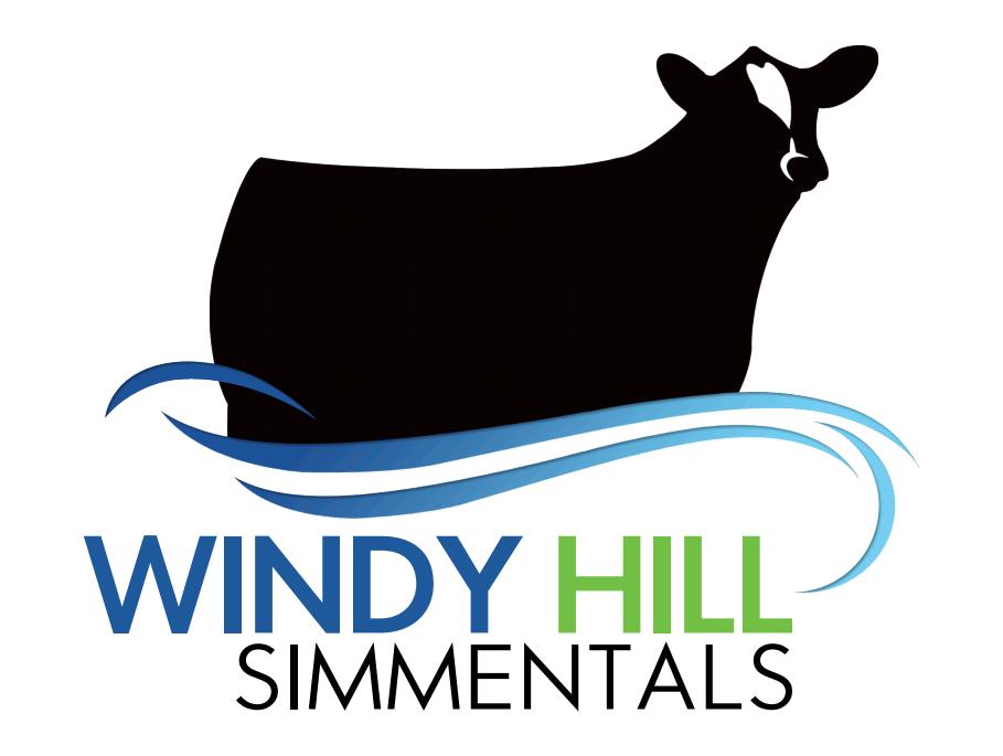 Windy Hill Simmentals Logo