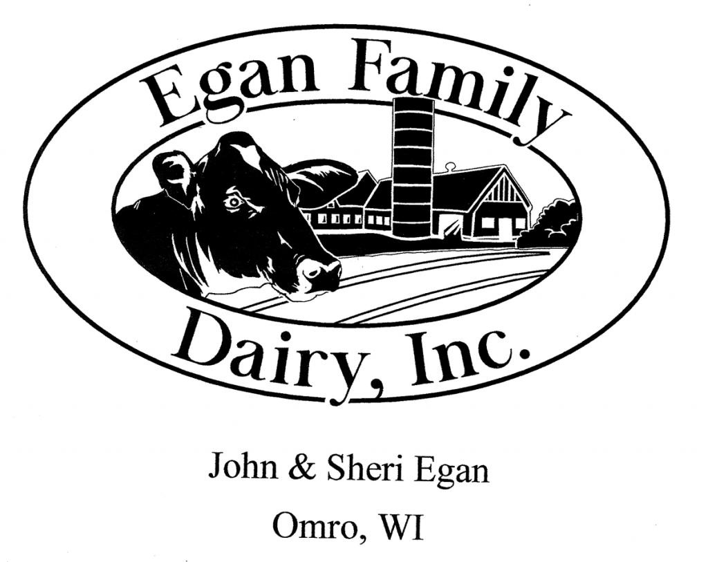Egan Family Dairy, Inc Logo (John & Sheri Egan Omro, WI)